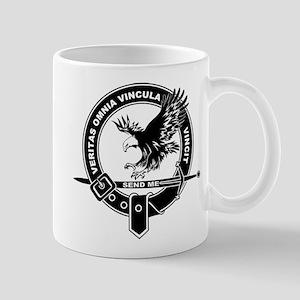 Sad Unit Crest B-W Mug Mugs