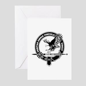 SAD Unit Crest B-W Greeting Cards (Pk of 10)