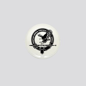 SAD Unit Crest B-W Mini Button