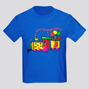 Birthday Express 3rd Kids Dark T-Shirt