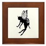 Butterfly Fairy Framed Tile