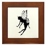 Butterfly Fairy Framed Tile