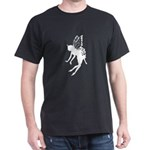 Butterfly Fairy Black T-Shirt