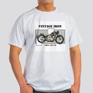1927-28 Vintage Iron Ash Grey T-Shirt