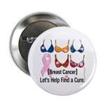 Breast Cancer Find / Fund Cure Button