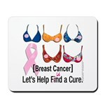 Breast Cancer Find / Fund Cure Mousepad