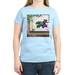 Vintage Plum Fruit Collage Women's Light T-Shirt