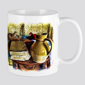 Early Colonial Still Life Mug