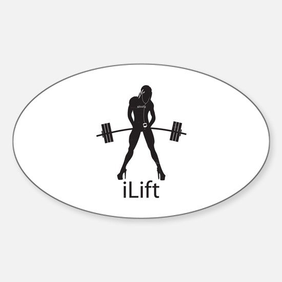 iLift Sticker (Oval)