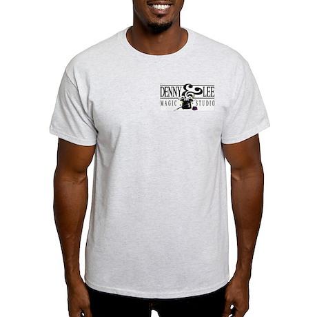 Ash Grey T-Shirt pocket logo