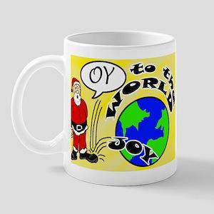 Oy to the World Mug