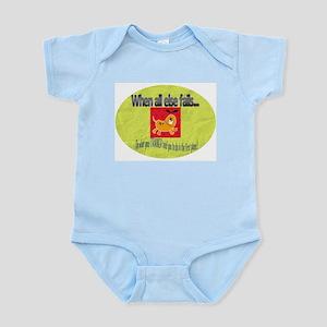 When all else fails Infant Bodysuit