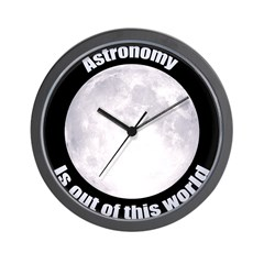 Astronomy Is Out Of This World! Wall Clock