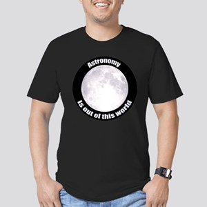 Astronomy Is Out Of This World! Men's Fitted T-Shi