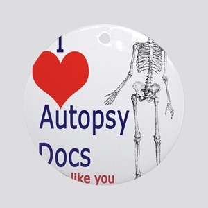 Autopsy Docs Ornament (Round)