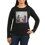 Rice Cake Dilemma Women's Long Sleeve Dark T-Shirt