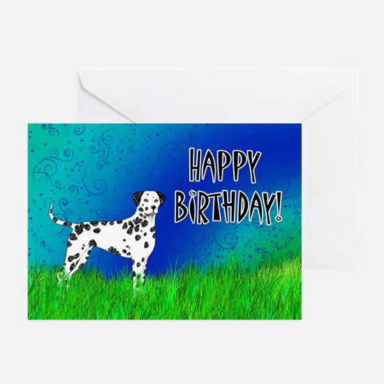 Birthday Dalmatian Greeting Cards (Pk of 20)