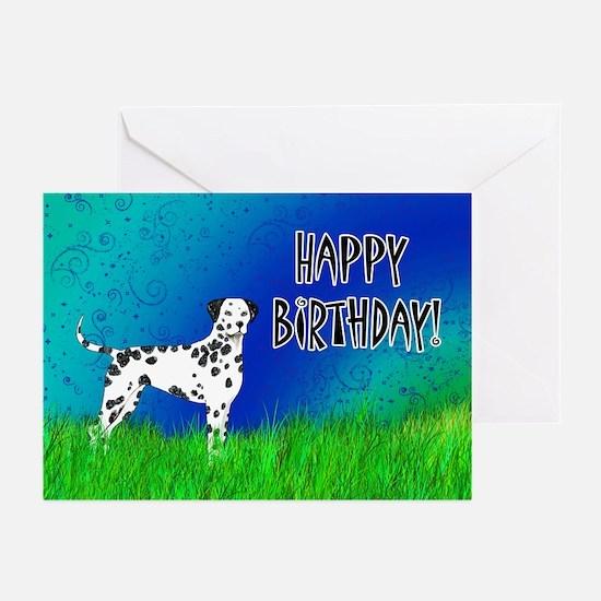 Birthday Dalmatian Greeting Cards (Pk of 20)