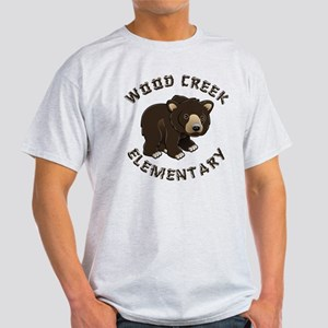 Wood Creek Bear Logo Light T-Shirt