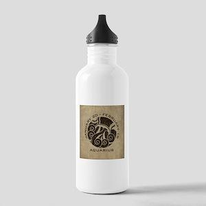 Vintage Aquarius Stainless Water Bottle 1.0L