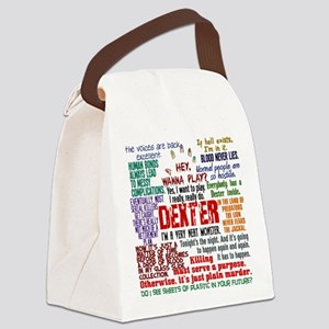 Best Dexter Quotes Canvas Lunch Bag
