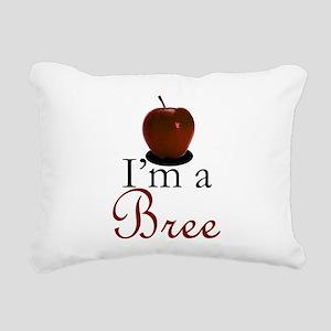 I'm a Bree Rectangular Canvas Pillow