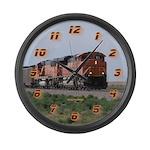 BNSF Train Large Wall Clock