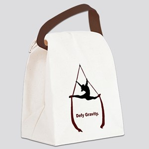 Defy Gravity Canvas Lunch Bag