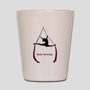 Defy Gravity Shot Glass