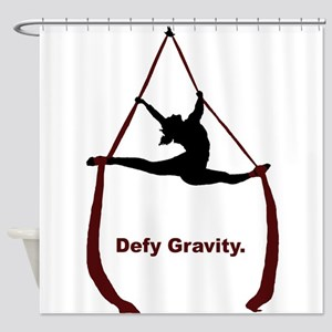 Defy Gravity Shower Curtain