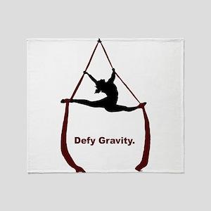 Defy Gravity Throw Blanket