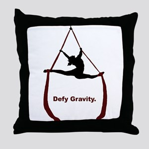 Defy Gravity Throw Pillow