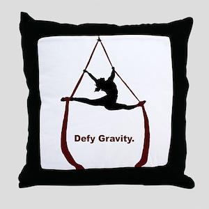 Defy Gravity Throw Pillow