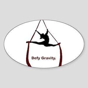 Defy Gravity Sticker (Oval)