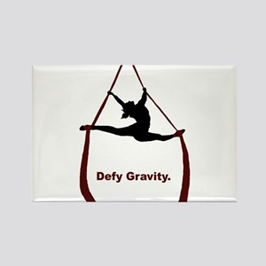 Defy Gravity Rectangle Magnet