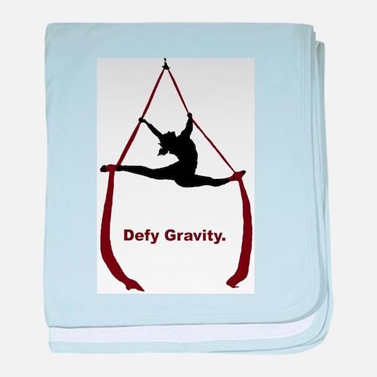 Defy Gravity baby blanket