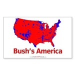 Shirt_BushsAmerica_01    Sticker (Rectangle 50 pk)