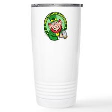 St. Patricks Day Stainless Steel Travel Mug