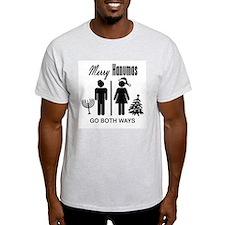 Go Both Ways Ash Grey T-Shirt