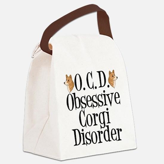 Corgi Obsessed Canvas Lunch Bag