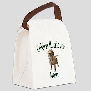 Golden Retriever Mom Canvas Lunch Bag