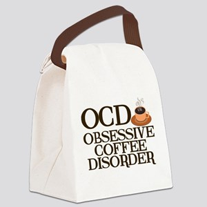 Funny Coffee Canvas Lunch Bag