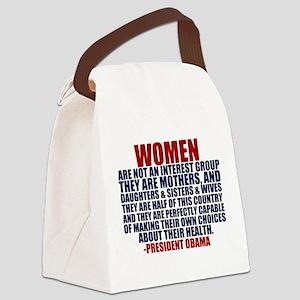 Pro Choice Women Canvas Lunch Bag