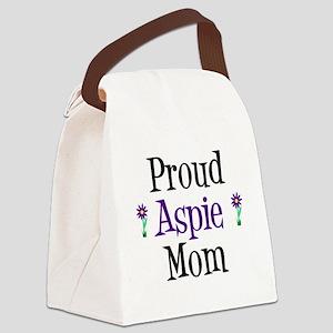 Proud Aspie Mom Canvas Lunch Bag
