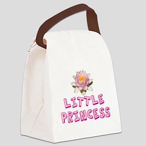 Little Princess Canvas Lunch Bag