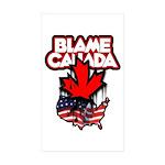 BLAMECANADA Sticker (Rectangle 50 pk)