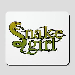 Snake Girl Mousepad
