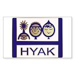tshirt_hyaklogo          Sticker (Rectangle 50 pk)