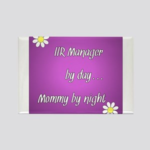 HR Manager by day Mommy by night Rectangle Magnet