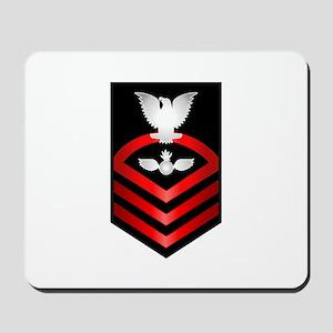 Navy Chief Aviation Ordnanceman Mousepad